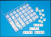 Tablitas con letras