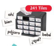 Spanish Word Tiles
