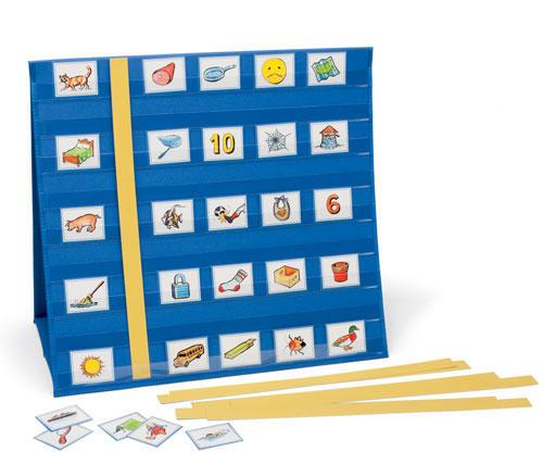 Modular Classroom Crossword : Portable pocket chart primary concepts dealer