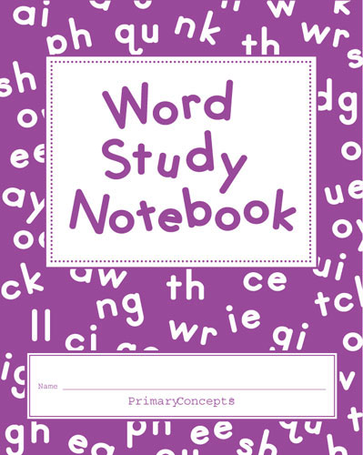 word study notebook set of 20 primary concepts dealer