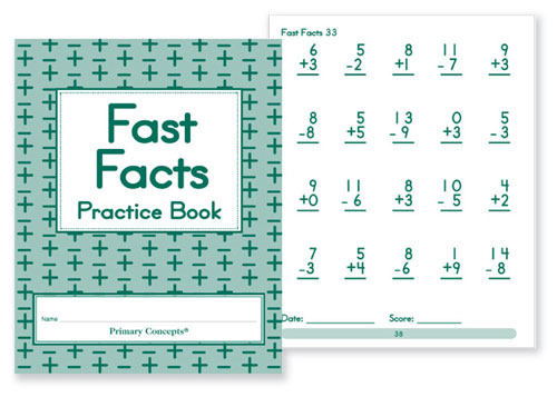 Fast Facts Practice Books (20) | Primary Concepts Dealer